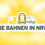 Die Bahnen in NRW