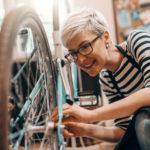 Mit wenig Aufwand  Reparaturkosten am  Fahrrad sparen